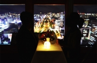 [Own the Nightscape] Charter the Sapporo TV Tower Observatory for 30 minutes (surprise plan for couples).